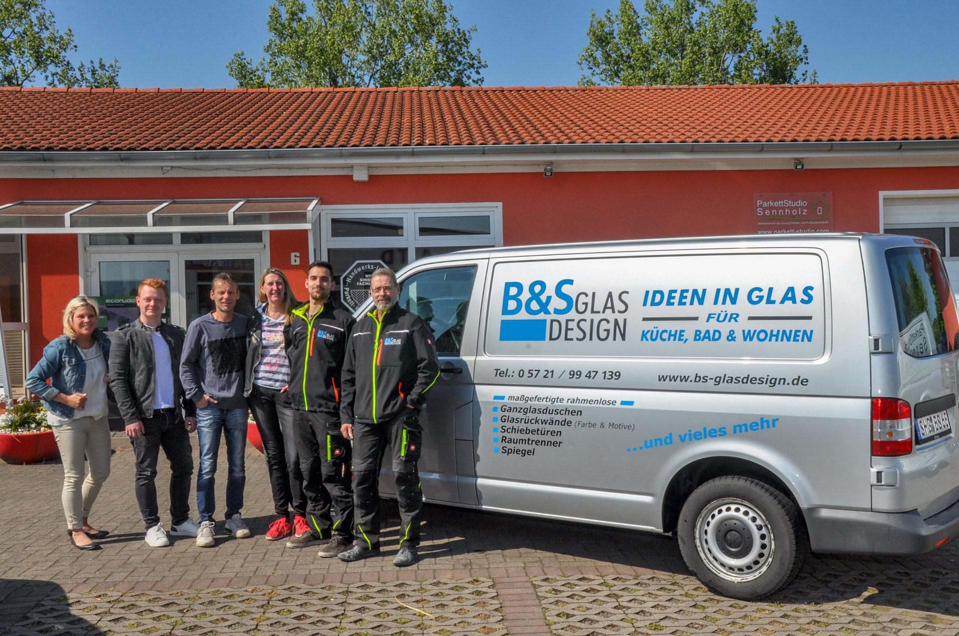 Ihr Team von B&S GLAS DESIGN
