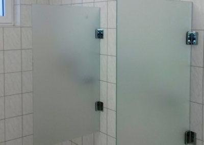 Duschraum Abtrennung