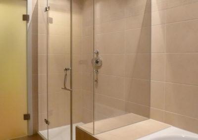 individuelle Dusche