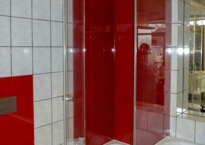 Dusche rot